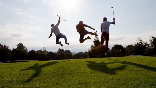 WIR Andritzer spielen Golf !